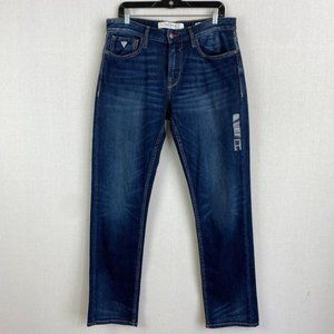 GUESS Relaxed Tapered Low Rise Jean